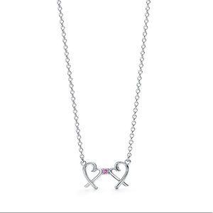 Tiffany & Co Paloma Picasso Double Loving Heart